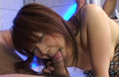 Ichigo Morino Asian doll gets hot creampie