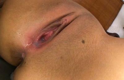 Hikaru Momose Asian babe gets a creampie