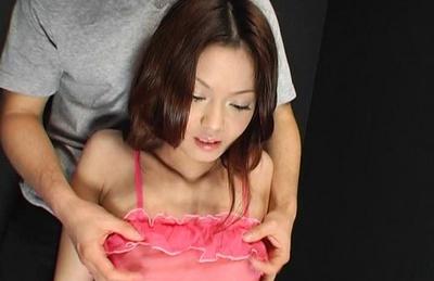 Cute Kaoru Mugi receives a creampie