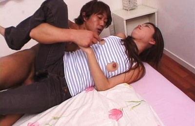 Hot milf Rarako Matsushima swallows up heaps of cum