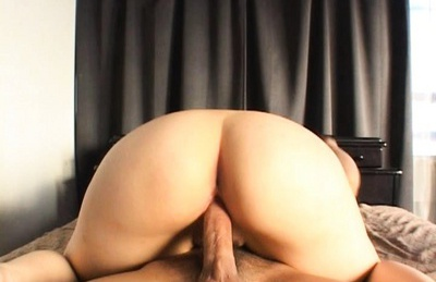 Asian cutie gets a deep penetration and a creampie just for fun.