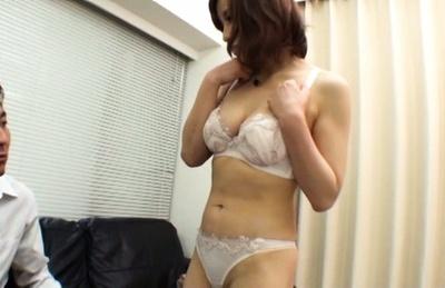 Stunning fingering with horny milf Ryouka Yuzuki