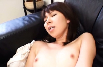 Skinny Asian milf with sexy body enjoys tough sex in a car