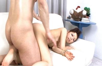 Yuki Asami Hot Asian model gets creampied