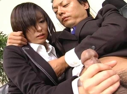 Satomi Maeno Asian secretary has sex in the office