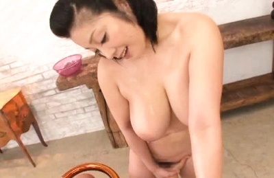 Lovely Minako taking pleasure sucking huge dick